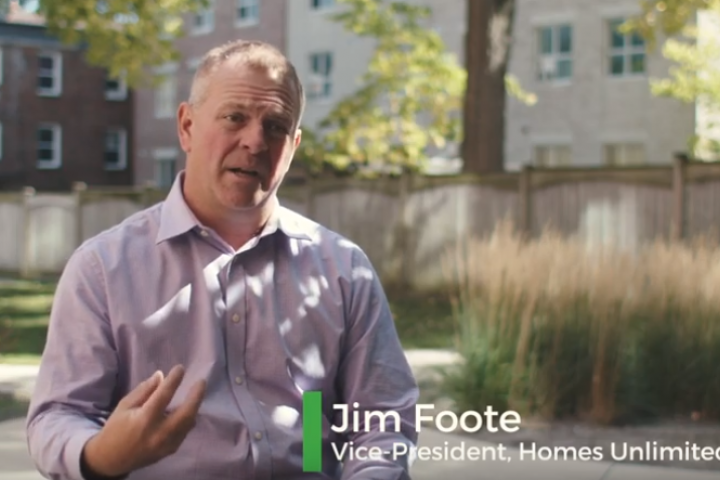 Jim Foote, VP Homes Unlimited, was interviewed by London Community Foundation in discussion about non-profit housing in London.
